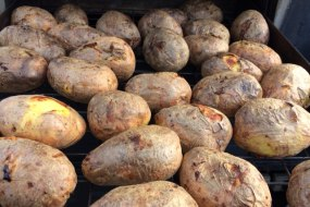 Deliciously Fresh Potatoes Cooked Fresh At Your Venue
