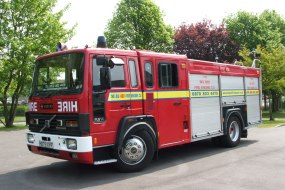 The Big Red Fire Engine