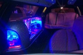 Pink Limousine Interior