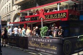 Champagne Bus Bar London
