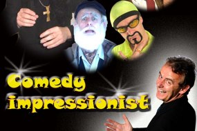 lookalikes and stand up impressions for clubs and corporate