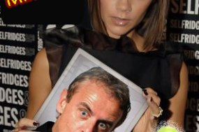 Victoria Beckham's favourite funny man for parties and events