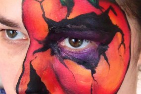 Halloween fun! pre book your one off Halloween face paint
