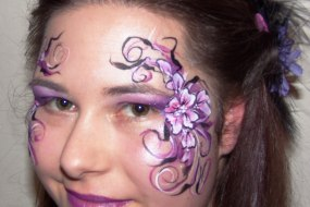 Face paint is not just for children. pretty/funky adult designs available!