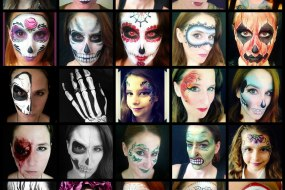 Halloween Face Painting by Fey Faces Oxfordshire