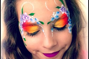 Girls Face Painting by Fey Faces Oxfordshire