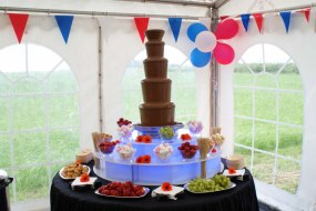Temptation Towers chocolate fountain hire kent