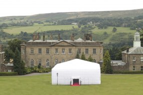 The Trillion inflatable cube marquee