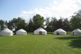 Party and Festival Yurts from Roundhouse