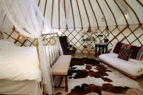 Wedding Night Yurt from Roundhouse