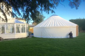 Yurt in York 28ft Roundhouse Yurt