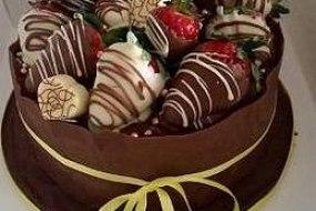 Belgian Chocolate Cake for Celebrations or Wedding