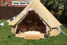 4 meter bell tent hire corby Northants