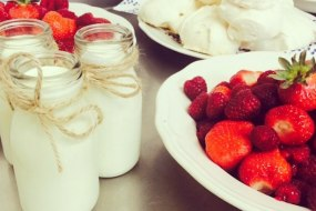 The Rustic Caterer | Deconstructed Pavlovas