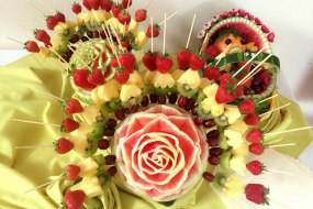 Fruit decorations