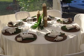 Wedding informal table