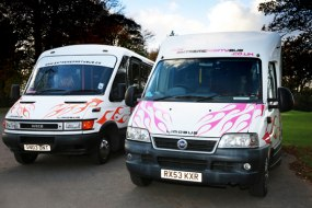 up to 16 seater party buses