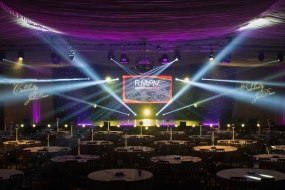 Lighting, Sound, Video, PA System, Staging, Event management, Celebrity Just Dance, Lighting Design