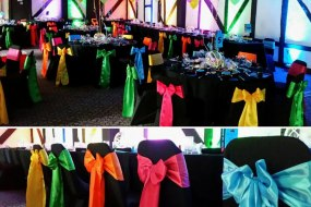 Chair covers & sash hire in Stevenage, Hertfordshire