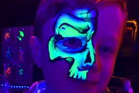 An Awesome Face Painting by Ulianka