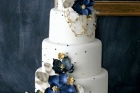 Beautiful Blue & White & a Hint of Gold