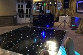 Black Starlit Dancefloor, Disco, Party, Christmas, DJ, The Belfry