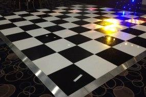 Black and White Dancefloor, Disco, Party, Christmas, DJ