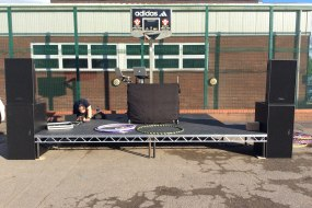 PA, Stage Hire, St Giles Hospice, Ohm, Sound Engineer