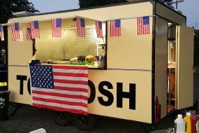 One of our burger vans at a recent birthday party