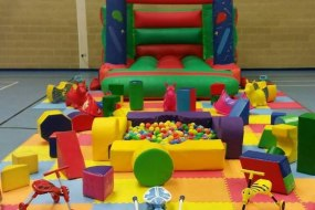 Bouncy castle and softplay