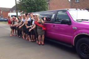 Pink Jeep 13 seater