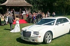 Wedding non stretch White Chrysler max 4 people