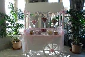 hire wedding sweet cart candy cart