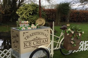 Ice cream bike, Catering for your romantic wedding and fun  parties