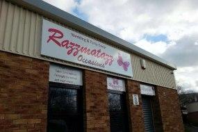 Razzmatazz Occasions shop in Bathgate