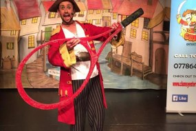 Captain Clumsy from Clumsy entertainment