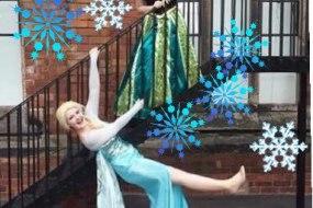 Our beautiful princesses - Anna and Elsa
