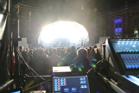 Music Festival Sound Production