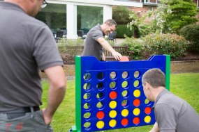 corporate team building fun day working together team work engage ice breaker
