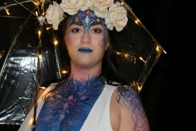 Festival Body Art. Impeccable Parties. Coventry Face Painter. Warwickshire Face Painter