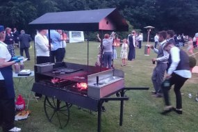 Claridge's BBQ catering Norfolk cart