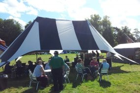 Festival coffee; marquee hire, outdoor cafe
