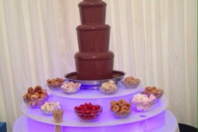 4ft with 5tiers Fountain which offers that huge wow factor at any event
