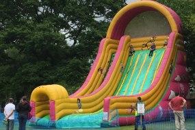 Quads N Castles 50 feet high slide