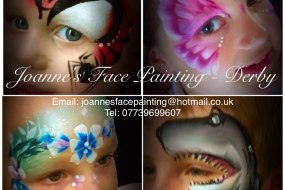 Joanne's Face Painting - Derby