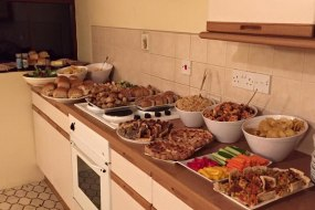 Holiday cottage buffet