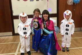Princess Party, Frozen Party, Princess Anna, disco and games, entertainer, children's party