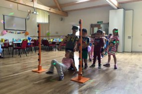 Pyjama Party, children's party, disco and games, limbo, entertainer