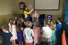 Minion party, disco and games, children's party, entertainer