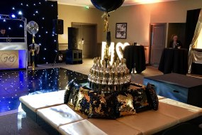 Black and Gold themed Party